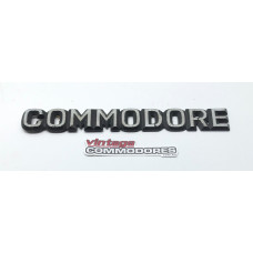 "VB VC ""COMMODORE"" BOOT BADGE (GM 92003054) GM 92011109"