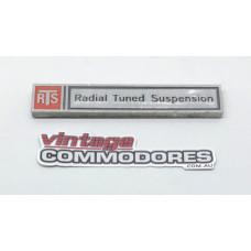 "VB VC ""RTS"" BOOT BADGE (GM 92005685) GM 92011455"